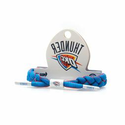 Rastaclata NBA Oklahoma City Thunder White Blue Red Shoelace