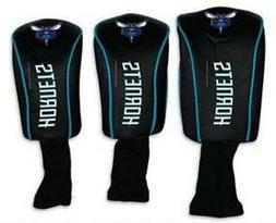 Charlotte Hornets Golf Club Head Covers NBA Mesh