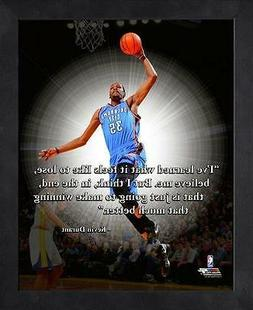 KEVIN DURANT ~ 8x10 Color Pro Quote Photo Picture ~ Framed 9