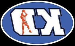 "Kevin Durant ""KD"" Oklahoma City Thunder  Bumper Sticker 5"" B"