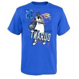 Kevin Durant NBA Oklahoma City Thunder Player Photo Blue T-S