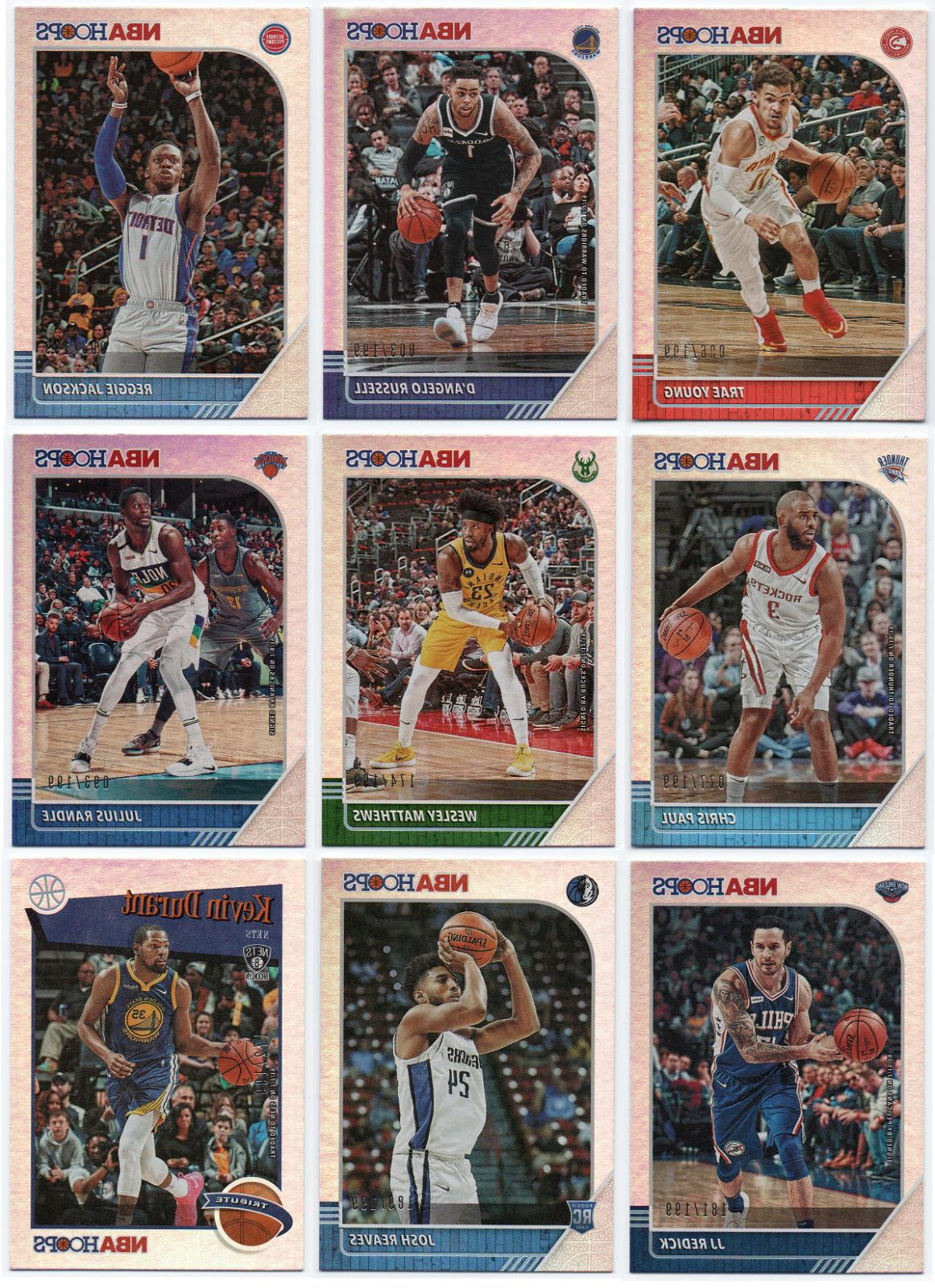 2019 20 hoops silver parallel 199 pick