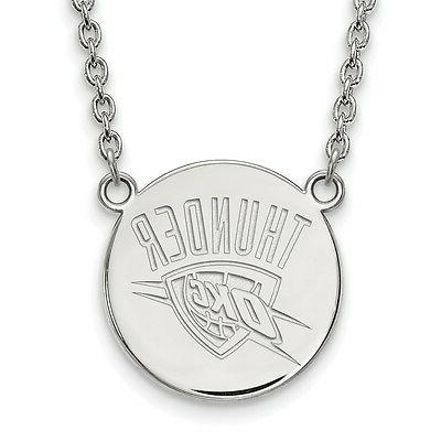925 silver rhodium plated nba laser cut