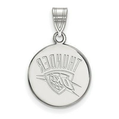 925 sterling silver nba laser cut oklahoma