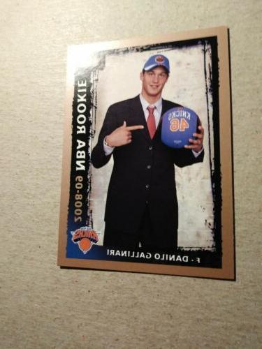 DANILO GALLINARI 2008-09 NBA Fleer #206 - Oklahoma