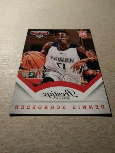DENNIS SCHROEDER - 2013-14 Oklahoma City Thunder