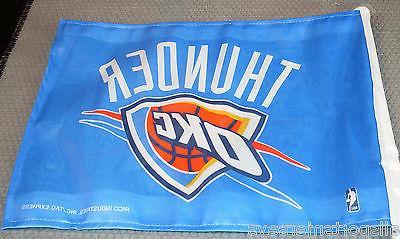 NBA NWT CAR FLAG CITY THUNDER