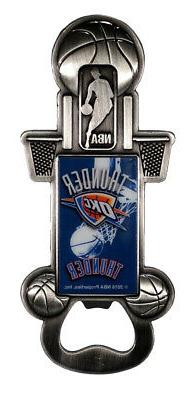 Official NBA Oklahoma City Thunder Bottle Opener 137913
