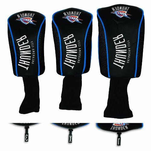 NBA Oklahoma City Thunder 3-Pack Mesh Headcovers