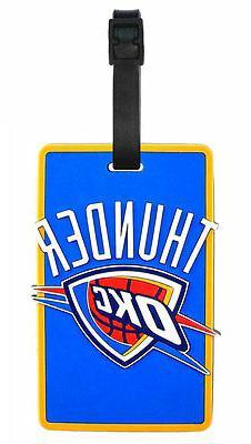 NBA Oklahoma City Thunder Soft Bag Tag