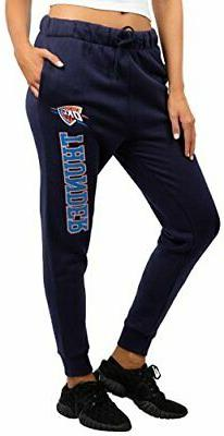 NBA Oklahoma City Thunder Women's Jogger Pants Active Basic