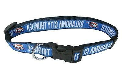 NBA OKLAHOMA Dog Collar Collars Puppy