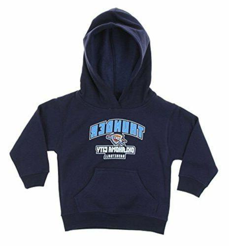 nba toddler oklahoma city thunder pullover fleece