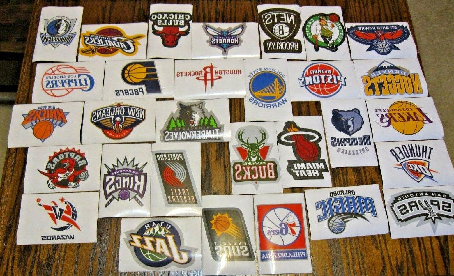 new nba logo stickers pick from all