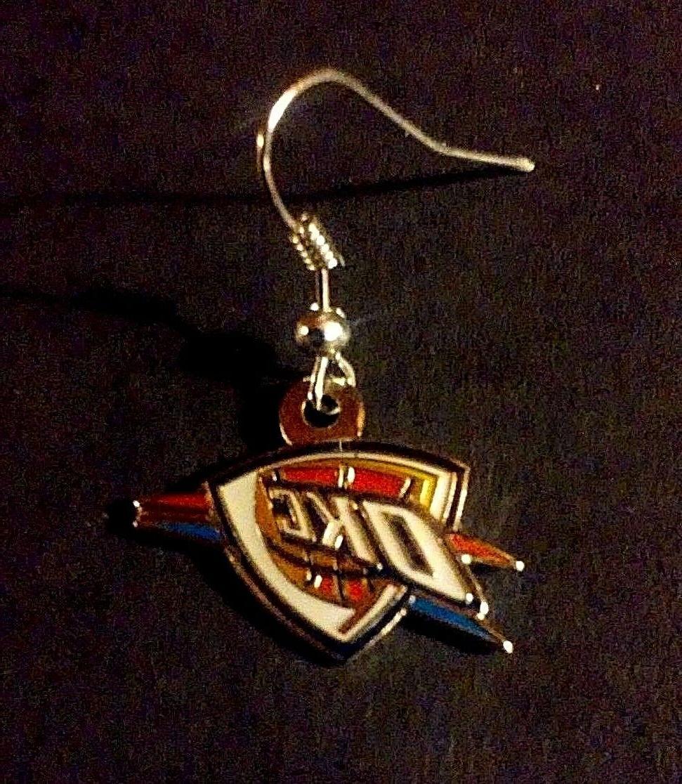 New, Oklahoma Logo Wire, Silver, NBA