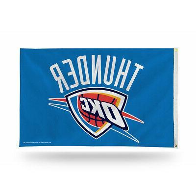 oklahoma city thunder 3x5 indoor outdoor banner