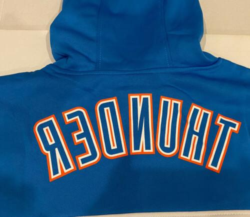 UNK NBA Thunder Hooded Sweater Mens 2XL