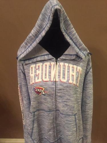 oklahoma city thunder hoodie sweater size men