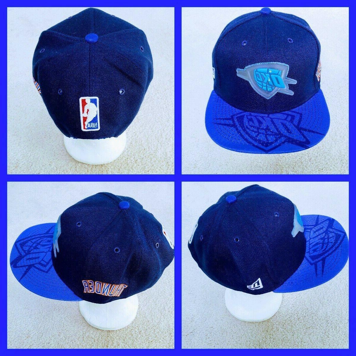 oklahoma city thunder nba basketball snapback hat