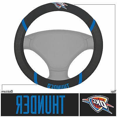 Oklahoma City Thunder NBA Car Truck Steering Cover Metal Emblem