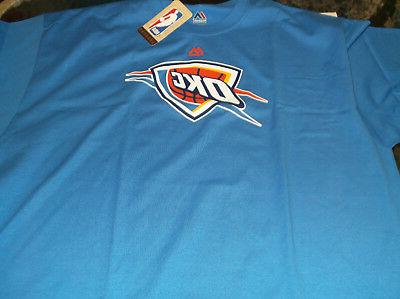 oklahoma city thunder nba team apparel shirt