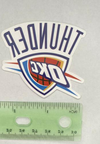 OKLAHOMA CITY THUNDER OKC NBA DECAL