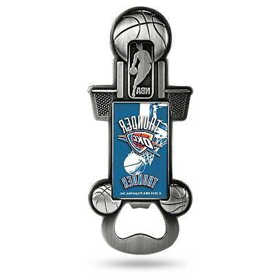 oklahoma city thunder party starter magnetic pewter