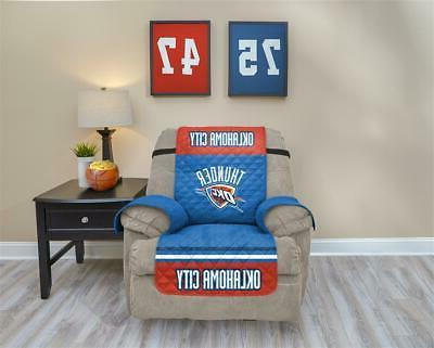 oklahoma city thunder recliner cover furniture protector