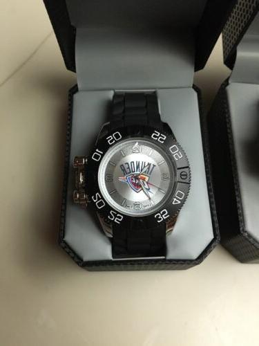 oklahoma city thunder watch wristwatch men s
