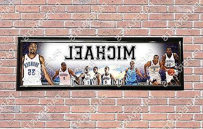 personalized customized oklahoma city okc thunder name