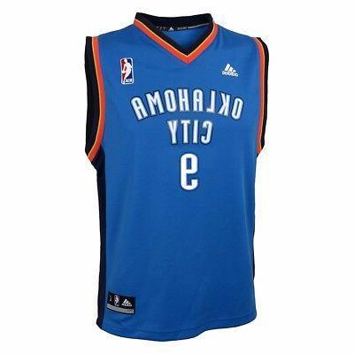 Serge Oklahoma Thunder Adidas Blue Road
