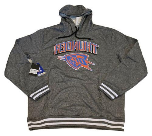UNK NBA Thunder Name Logo OKC Sweater Lrg Hoodie