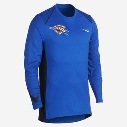 Mens Nike Hyper Elite NBA Oklahoma City Thunder Long Sleeve