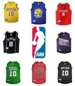 nba basketball dog jersey pet apparel free