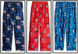 NBA Boy Pajama Pant Houston Rockets Oklahoma City Thunder Mi