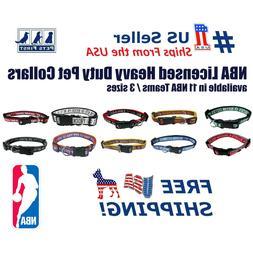 NBA Collars Heavy-Duty, Durable & Adjustable Collar for Pets