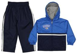 NBA Infants/Toddlers Oklahoma City Thunder Swish Windsuit Ja