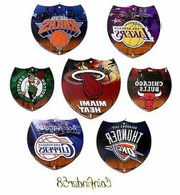 "NBA Interstate Sign 8"" Decorate Your Wall Office Bar - Pick"