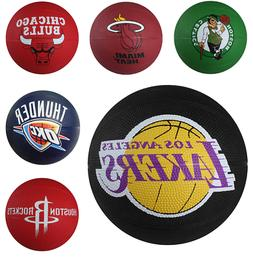 Spalding NBA Mini Outdoor Basketball Rubber Primary Team The