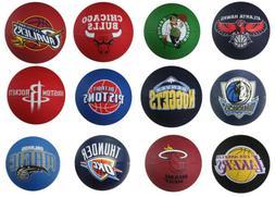 Spalding NBA Mini Primary Team Outdoor Rubber Basketball, 28