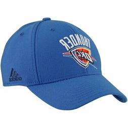 Adidas NBA Oklahoma City Thunder Flex Fit Hat, OSFM