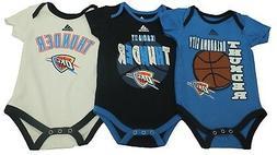 NBA Oklahoma City Thunder Genuine Adidas Infant 3 Piece Cree