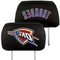 NBA Oklahoma City Thunder Head Rest Cover - 10 x 13