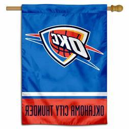 NBA Oklahoma City Thunder House Flag and Banner