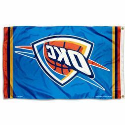 NBA Oklahoma City Thunder Large Outdoor 3x5 Banner Flag