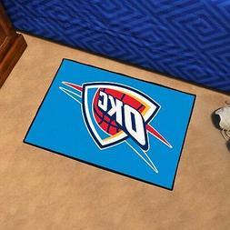 FANMATS NBA Oklahoma City Thunder Nylon Face Starter Rug