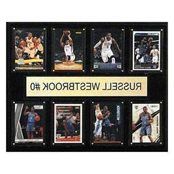 NBA Oklahoma City Thunder Russell Westbrook 8-Card Plaque, 1