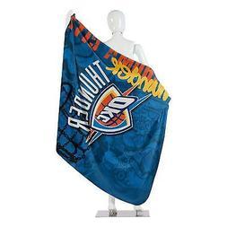 "NBA Oklahoma City Thunder Soft Fleece Throw Blanket 50"" X 60"