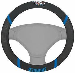 NBA Oklahoma City Thunder Steering Wheel Cover - 15 x 15