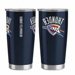 Oklahoma City Thunder Ultra Navy 20oz Travel Tumbler NBA - B